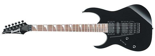 Ibanez RG-370 DXL BK lefthand E-Gitarre