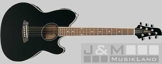 Ibanez TCY10E-BK Westengitarre
