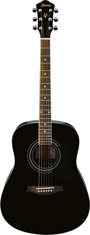 Ibanez V105 SJP-BK Westerngitarre JamPack