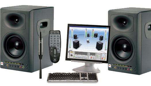 JBL LSR-4326 P Studiomonitor SET inkl. Messmikro und Fernbedienung