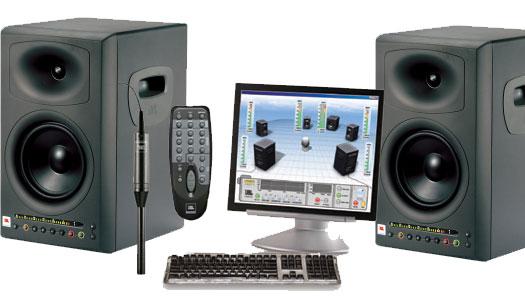 JBL LSR-4328 P Studiomonitor SET inkl. Messmikro und Fernbedienung