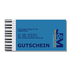 J&M Geschenkgutschein - Wert: 100 Euro