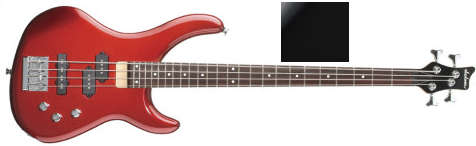 Jackson C-20 Concert Bass satin black