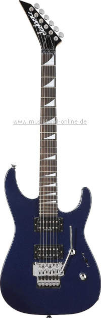 Jackson DX-10 Dinky cobalt blue UPGRADE