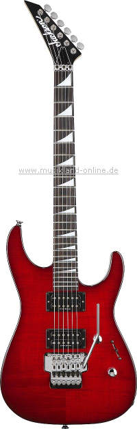 Jackson DX-10 Dinky trans red UPGRADE