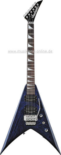 Jackson KVX-10 King V Cobalt Blue Swirl UPGRADE