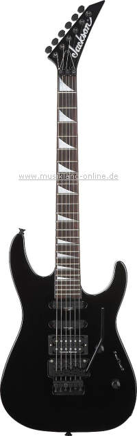 Jackson SL-3 Soloist black UPGRADE