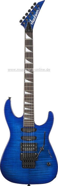 Jackson SL-3 Soloist transparent blue UPGRADE