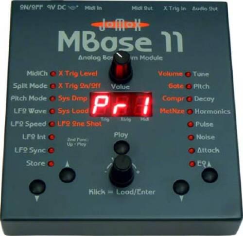 Jomox MBase11 analog BassDrum