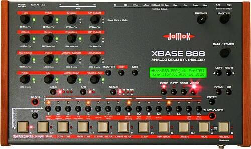 Jomox XBase 888 analog Drumcomputer