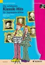 KLASSIK-HITS + CD für Sopranflöte + 2 Stimme