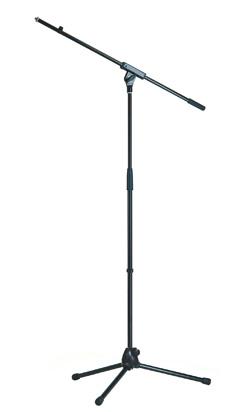 K&M 21070 Mikrofonstativ mit Schwenkarm schwarz