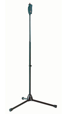 K&M 25680 Einhand-Mikrofonstativ schwarz