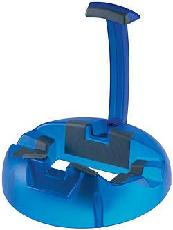 K&M Big Foot Gitarrenständer Blau 17530