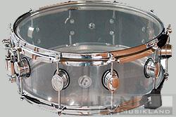 Kirchhoff Acryl Arctic Snare 14x6,5 clear