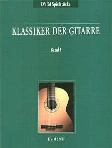 Klassiker der Gitarre Bd. 3