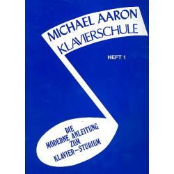 Klavierschule Heft 1 - Aaron, Michael