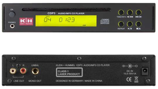 Klein Hummel CDP-3 CD/MP3 Player für PAS-100 Box
