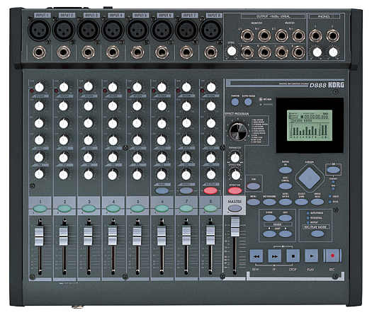 Korg D-888 Digital Recorder/Mixer