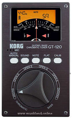 Korg GT-120 Stimmgerät