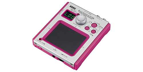 Korg Kaossilator Synth Pad KO-1  limited Pink