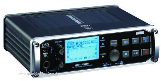 Korg MR-1000 portable Recorder