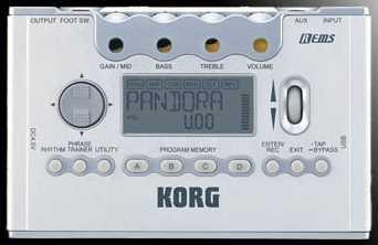 Korg PX-5D Pandora USB für EGitarre/Bass