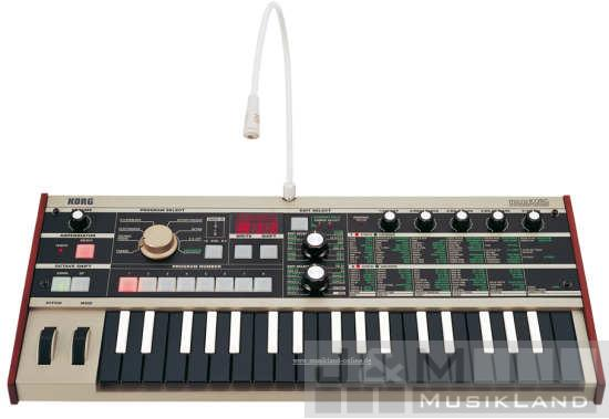 Korg microKorg Synthesizer Vocoder black Edition