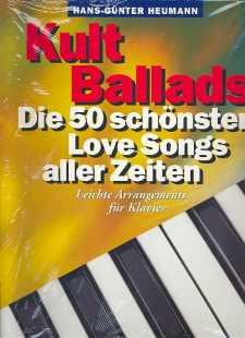 Kult Ballads - für Klavier