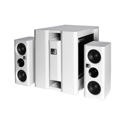 LD-Systems DAVE8XS tragbares 2.1-Multimediasystem White