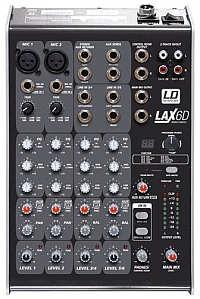 LD-Systems LAX-6D Mixer mit Effekten