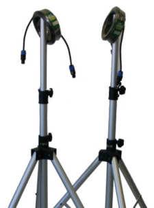 LD-Systems Zubehör Set 2 - Ständer + Kabel für DAVE-12