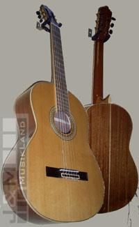 La Mancha Opalo 4/4 Konzertgitarre Zederndecke