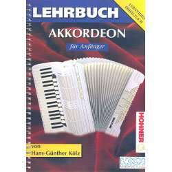 Lehrbuch Akkordeon Anfänger - Hans Günther Kölz