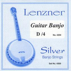 Fisoma F4200 Silber Guitar Banjo Strings