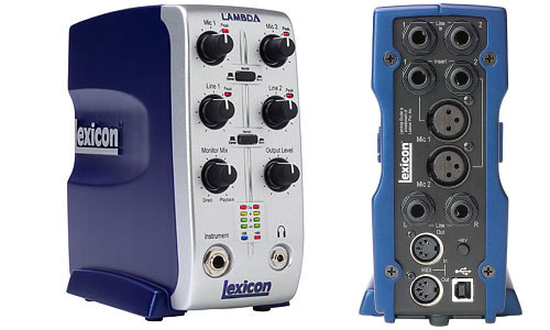 Lexicon Lambda – USB Desktop Recording System