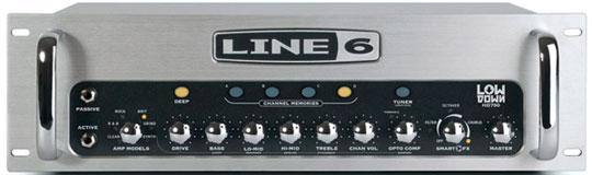 Line 6 Lowdown HD750 Bass Top