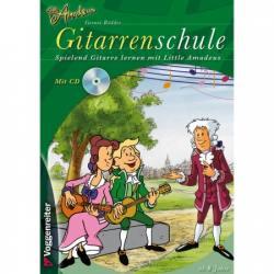 Little Amadeus Gitarren-Schule A4+CD