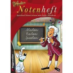Little Amadeus Notenheft A4