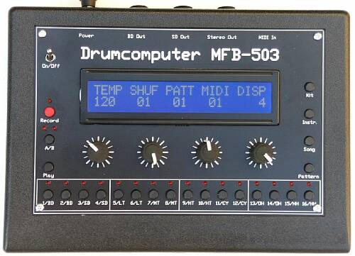 MFB 503 analog Drumsequencer