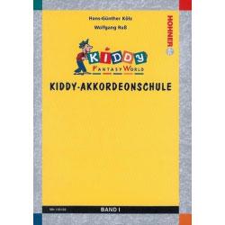 Kiddy-Akkordeonschule Band 1