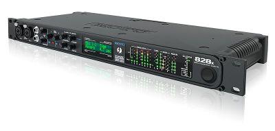 MOTU 828x Thunderbolt und USB3.0