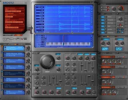 MOTU MachFive Softwaresampler