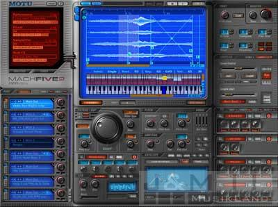 MOTU MachFive2 Softwaresampler