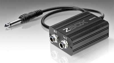 MOTU ZBOX Impedanzwandler