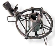 Spinne MXL-603 schwarz, ca. 19 - 23mm 603S, 604, V67N, 551