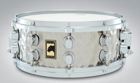 Mapex BLACK PANTHER Hammered Steel Snare 14x5,5
