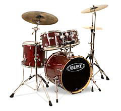 Mapex Set M-Birch MB-5045ACY Transparent Cherry Red