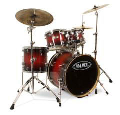 Mapex Set M-Birch MB-5245ABC Black Forest Cherry