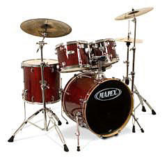 Mapex Set M-Birch MB-5255ACY Transparent Cherry Red